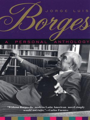 cover image of A Personal Anthology