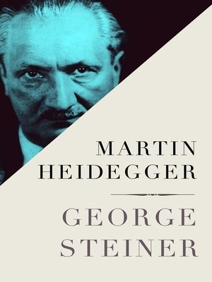 cover image of Martin Heidegger