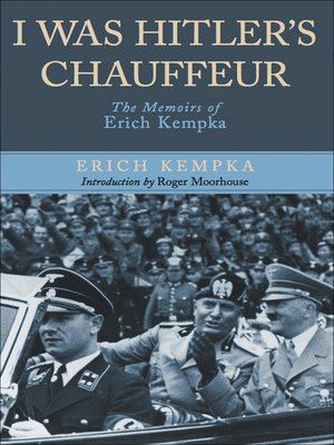 cover image of I Was Hitler's Chauffeur