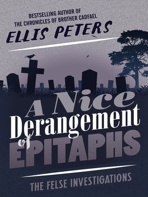 cover image of A Nice Derangement of Epitaphs