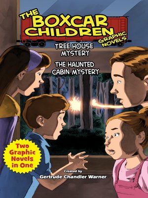 cover image of Tree House Mystery & The Haunted Cabin Mystery