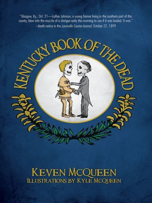 cover image of Kentucky Book of the Dead