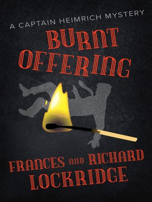 cover image of Burnt Offering