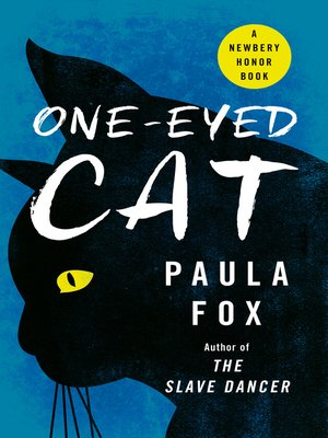 cover image of One-Eyed Cat