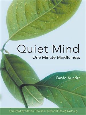 cover image of Quiet Mind