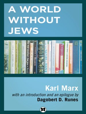 cover image of A World Without Jews
