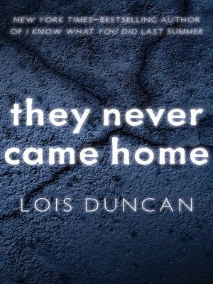 cover image of They Never Came Home