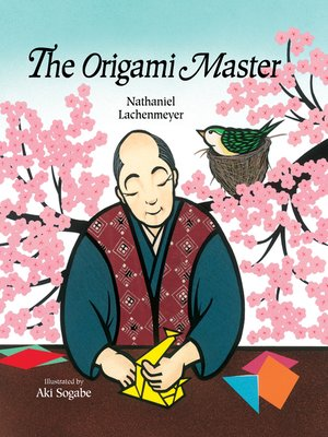 cover image of The Origami Master
