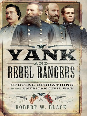 cover image of Yank and Rebel Rangers