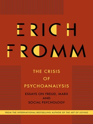cover image of The Crisis of Psychoanalysis