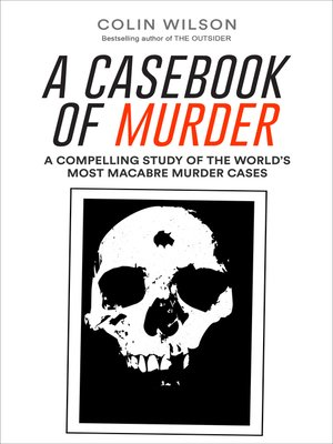 cover image of A Casebook of Murder