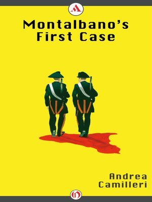 cover image of Montalbano's First Case