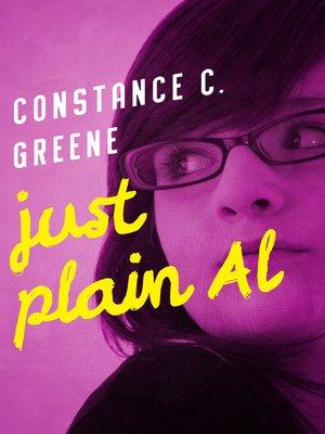 cover image of Just Plain Al