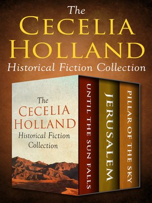cover image of The Cecelia Holland Historical Fiction Collection