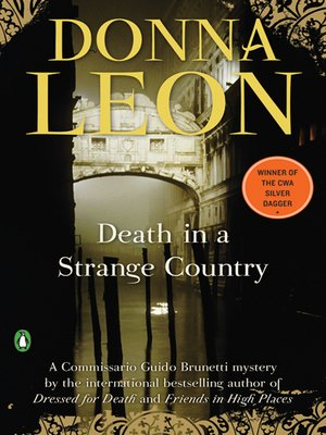 cover image of Death in a Strange Country