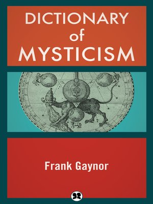 cover image of Dictionary of Mysticism
