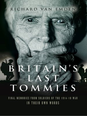 cover image of Britain's Last Tommies