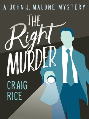 cover image of The Right Murder