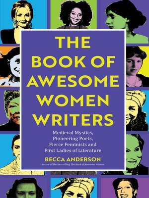 cover image of The Book of Awesome Women Writers