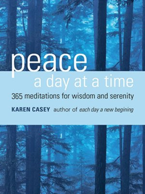 cover image of Peace a Day at a Time