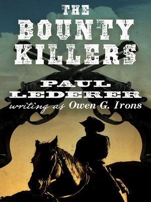 cover image of Bounty Killers