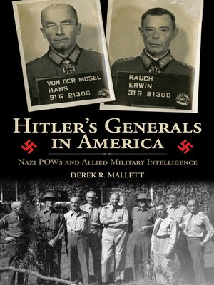 cover image of Hitler's Generals in America