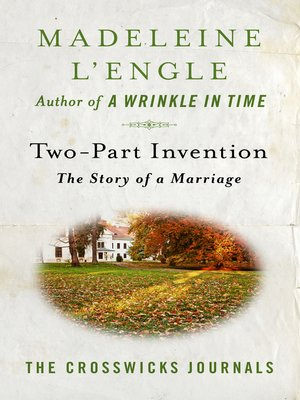 cover image of Two-Part Invention: The Story of a Marriage