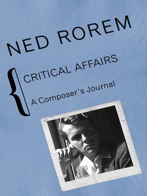 cover image of Critical Affairs