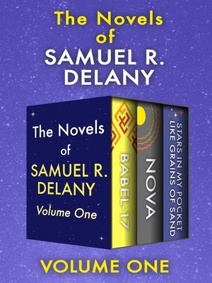 cover image of The Novels of Samuel R. Delany Volume One