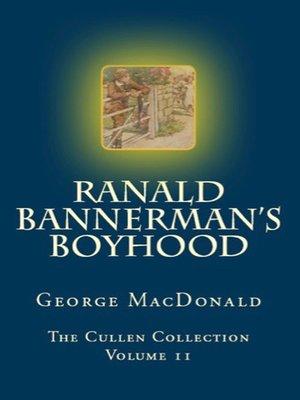 cover image of Ranald Bannerman's Boyhood