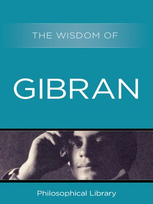 cover image of The Wisdom of Gibran