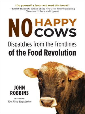 cover image of No Happy Cows
