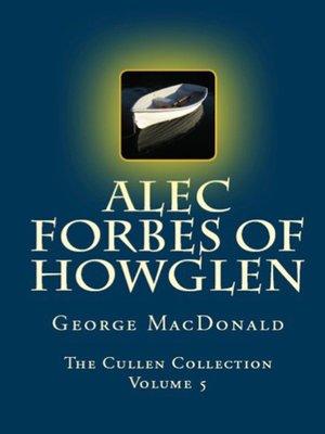 cover image of Alec Forbes of Howglen