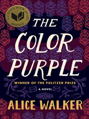 the color purple by alice walker · rakuten  the color purple