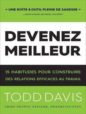 cover image of Devenez Meilleur