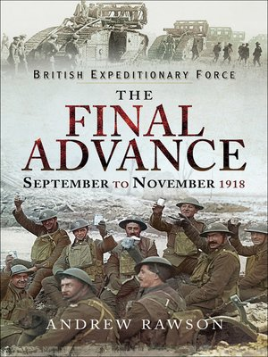 cover image of The Final Advance, September to November 1918