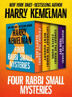 cover image of Four Rabbi Small Mysteries