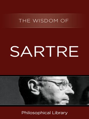cover image of The Wisdom of Sartre