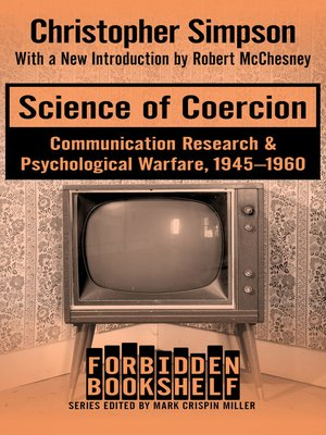 cover image of Science of Coercion