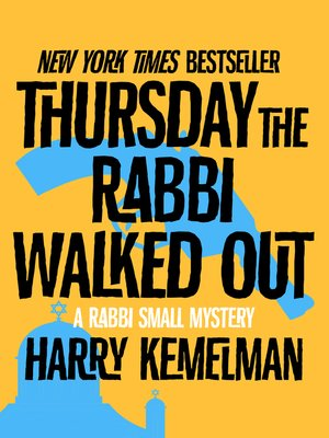 cover image of Thursday the Rabbi Walked Out