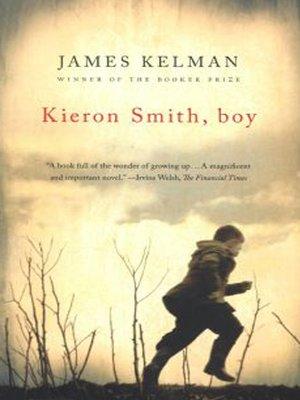 cover image of Kieron Smith, Boy