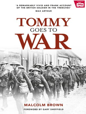 cover image of Tommy Goes to War