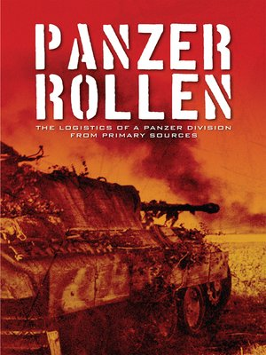 cover image of Panzer Rollen