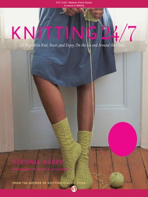 cover image of Knitting 24/7