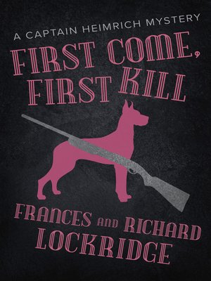 cover image of First Come, First Kill