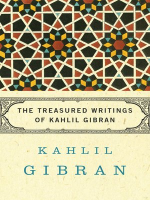 cover image of Treasured Writings of Kahlil Gibran