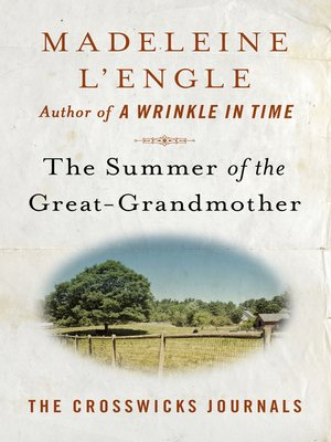 cover image of The Summer of the Great-Grandmother