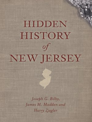 cover image of Hidden History of New Jersey
