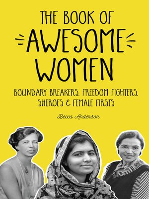 cover image of The Book of Awesome Women