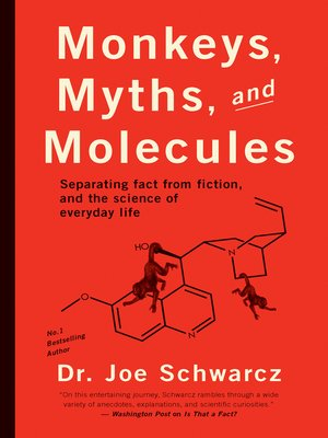 cover image of Monkeys, Myths, and Molecules